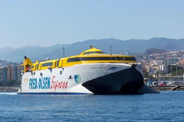 Fred Olsen toma medidas para seguir con las conexiones entre Palma y Tenerife