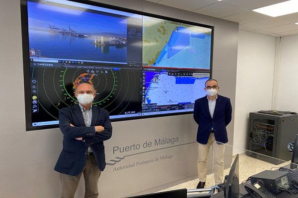 La Autoridad Portuaria de Málaga inaugura sus instalaciones de control de tráfico