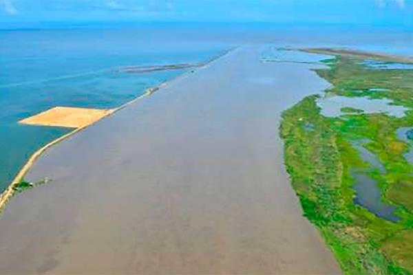 canal navegable del río Magdalena