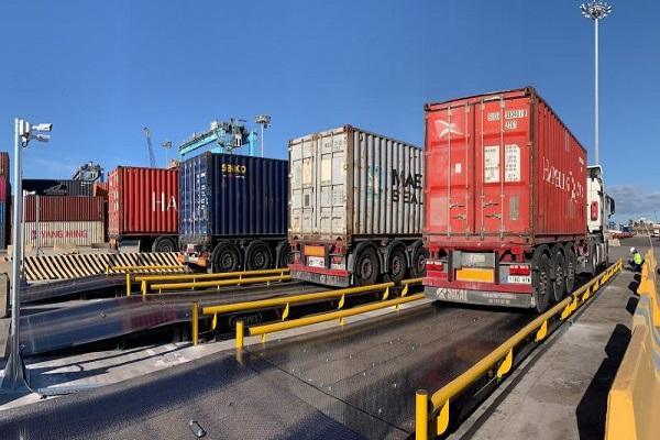APM Terminals Valencia añade tres básculas nuevas para pesar los camiones