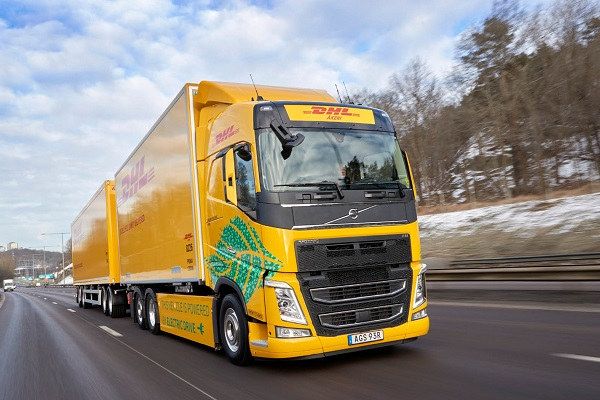 DHL Freight Volvo Trucks
