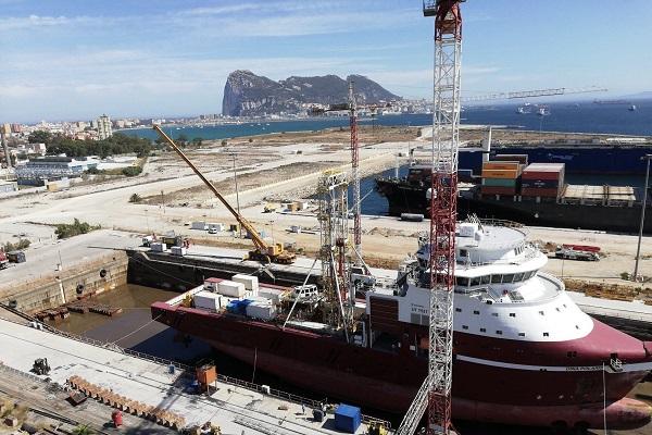 El Puerto de Algeciras quiere instalar un nuevo vial de acceso a Cernaval
