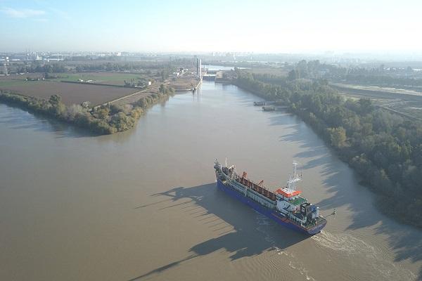 El Puerto de Sevilla progresa en su iniciativa de optimización de la navegación