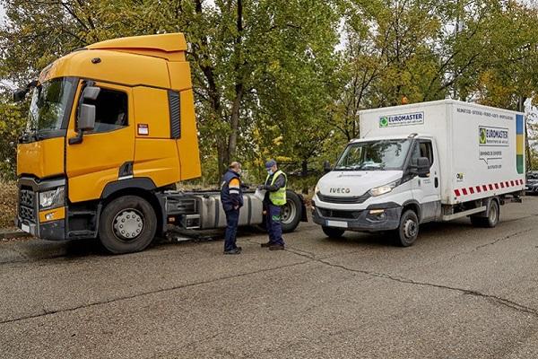 Euromaster mecánica asistencia en carretera