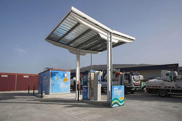 Pamplona estrena nueva gasinera privada de Gas Natural Comprimido