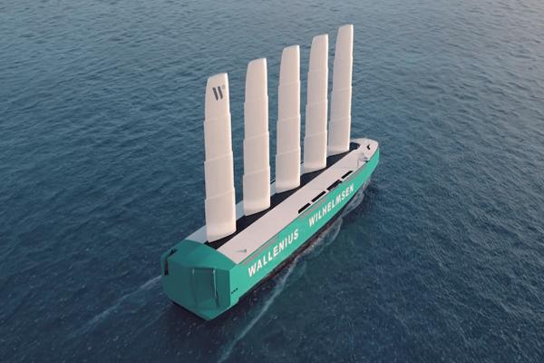 Wallenius Wilhelmsen diseña un buque ro-ro impulsado a vela