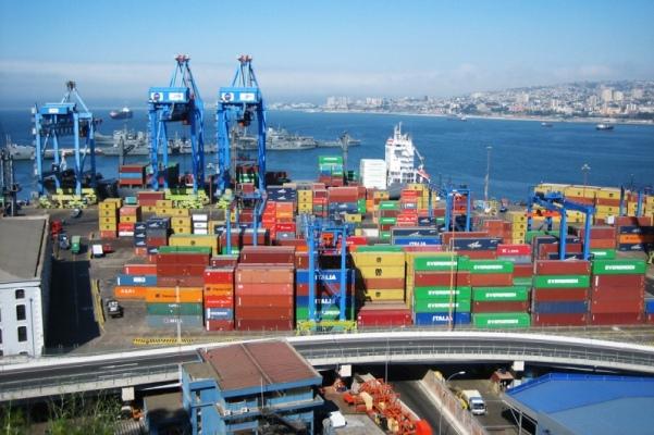 carga portuaria valparaiso