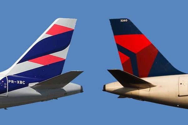 delta y latam aerolineas