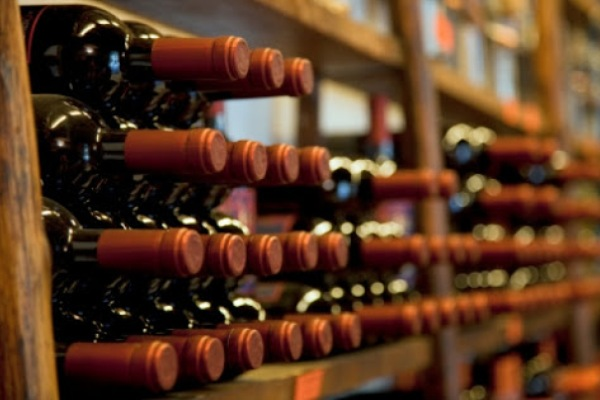 vino embotellado de Chile