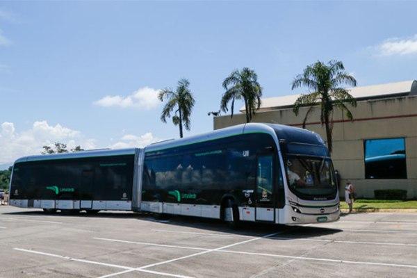 BYD brasil autobus articulado