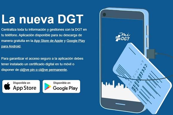 DGT aplicación miDGT
