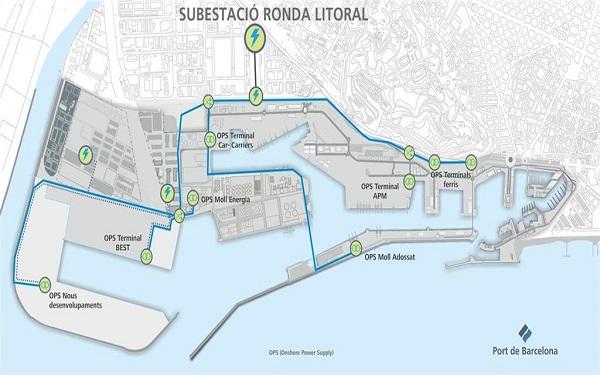 El Puerto de Barcelona inicia la electrificación de sus muelles