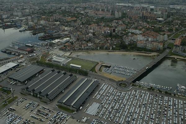 El Puerto de Vigo quiere recuperar una superficie de 65.000 metros cuadrados
