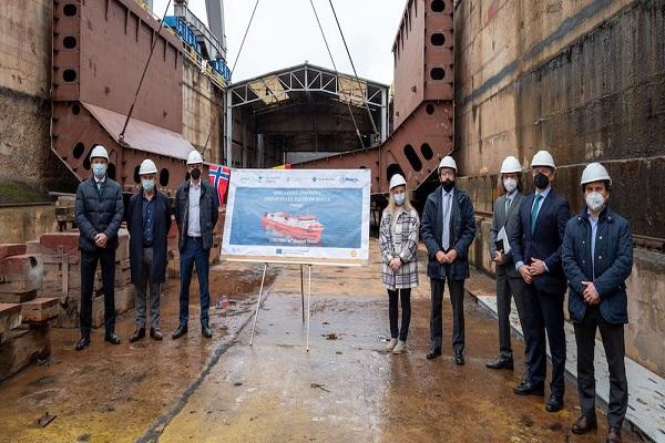 El primer buque de bunkering construido en España navegará en Barcelona