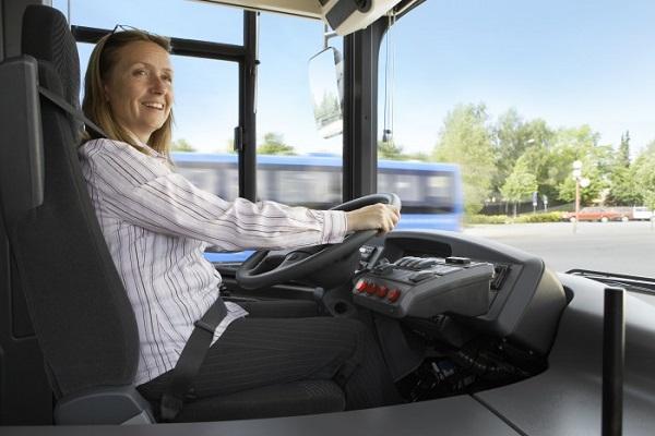 Mujeres conductoras autobús