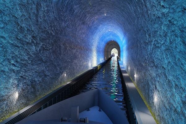 Noruega aprueba la construcción del primer túnel para barcos del mundo