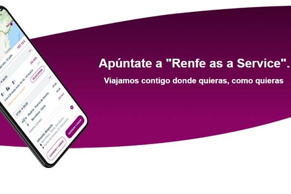 Renfe as a Service RaaS Renfe