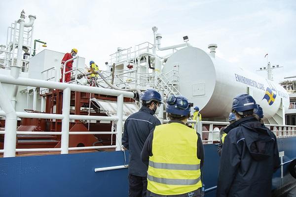 Repsol realiza su primer suministro de GNL en Puerto de Cartagena