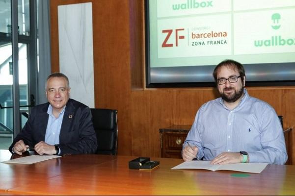 Wallbox planta Zona Franca de Barcelona