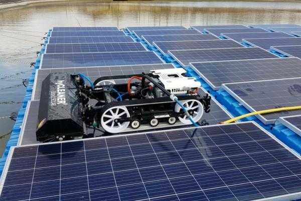 robot plantas fotovoltaicas