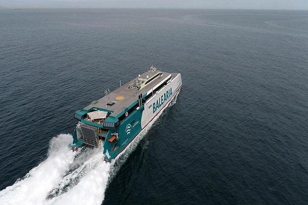 Baleària estrena su buque Eleanor Roosevelt en mayo