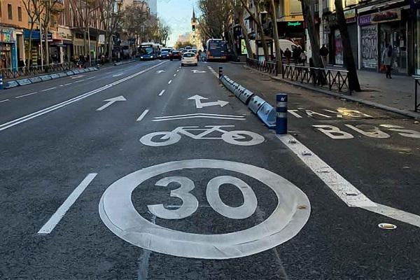 DGT nuevos límites de velocidad vías urbanas