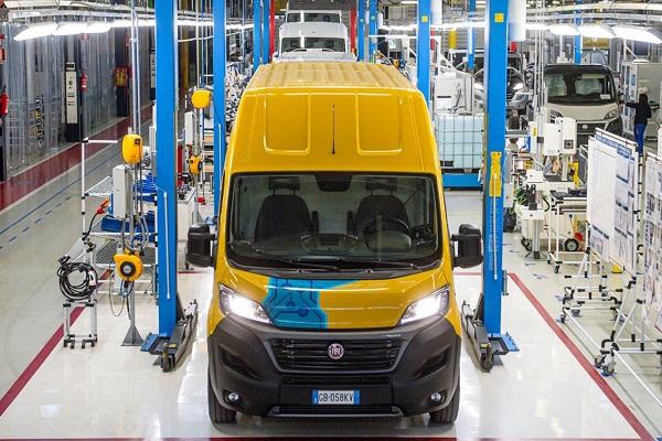 DHL Express Fiat Professional última milla