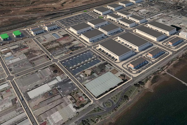 El Puerto de Huelva avanza en la ZAL de Punta del Sebo