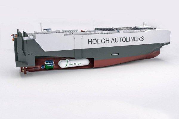 El Puerto de Santander recibirá los portacoches Aurora en 2023