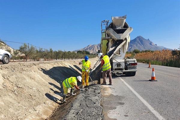 España conservación de carreteras