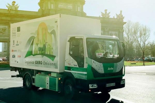 FM Logistic Citylogin primer camión eléctrico España
