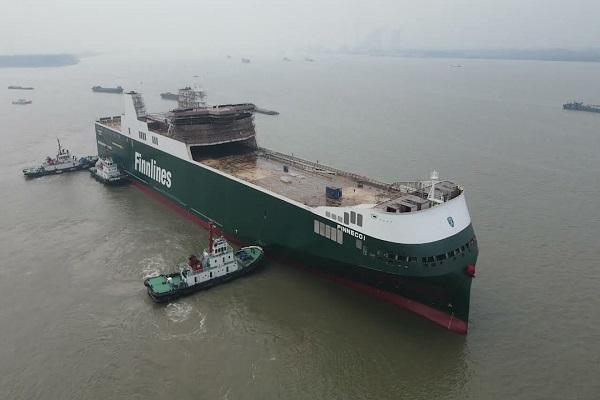 Finnlines pondrá en marcha su buque híbrido Finneco I este año