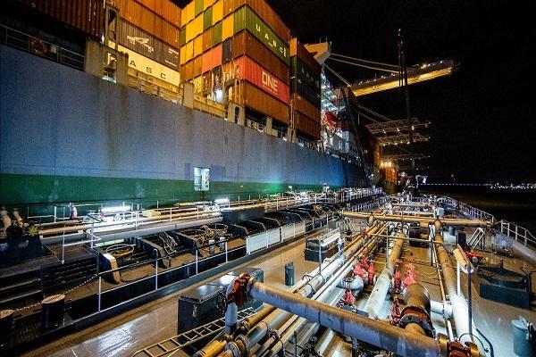 ONE apuesta por el uso de biocombustibles marinos sostenibles