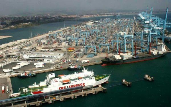 Punto limpio puerto de Algeciras