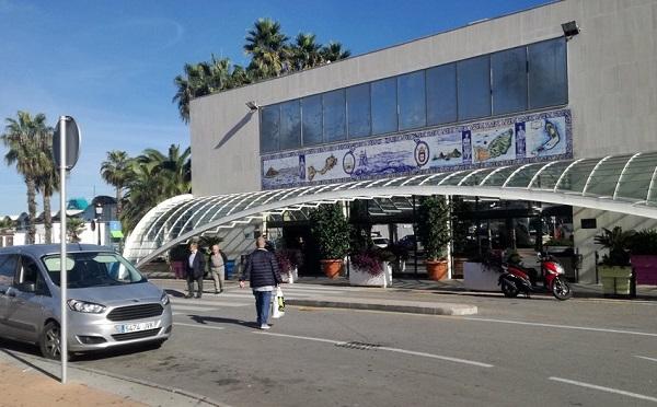 estación marítima del Puerto de Ceuta