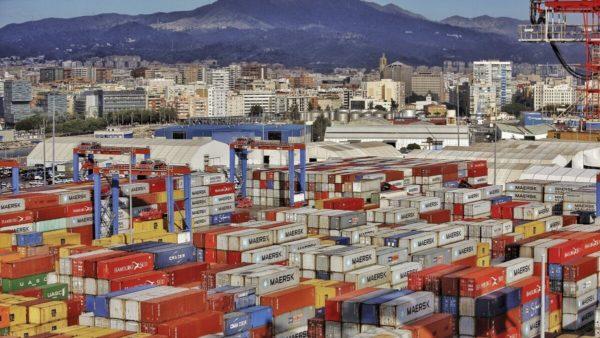 puerto Málaga mercancías