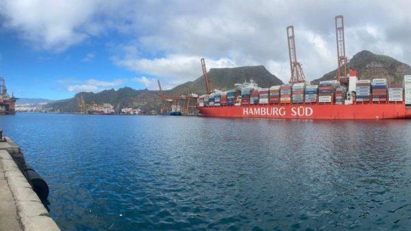 tráfico detrasbordo internacional Tenerife
