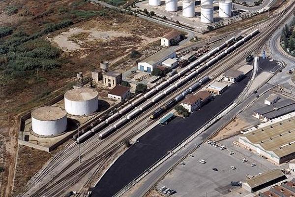 Adif optimizará la terminal Escombreras del Puerto de Cartagena