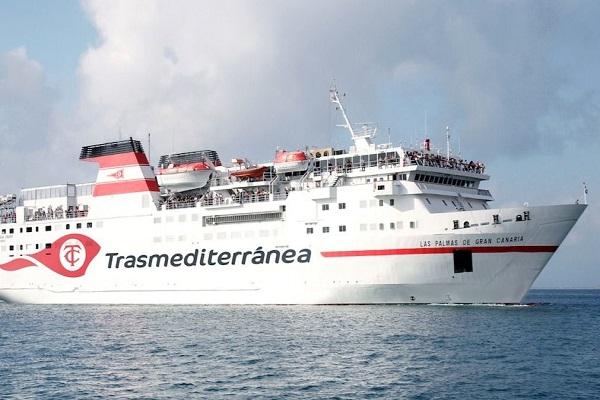 Armas Trasmediterránea aumenta las rotaciones entre Almería y Melilla