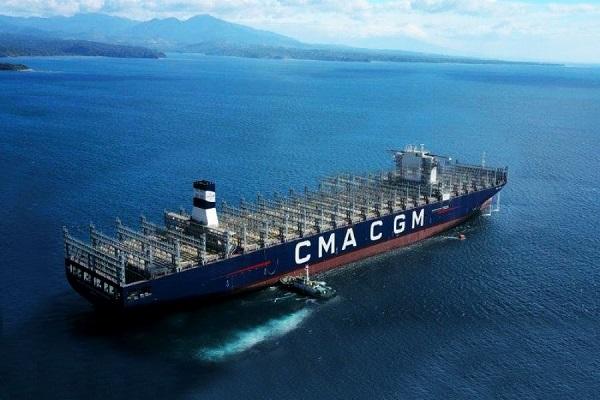 CMA-CGM añadirá 22 portacontenedores a su flota para 2024