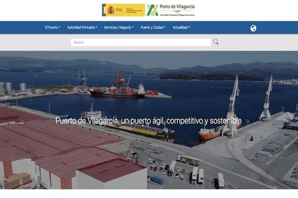 El Puerto de Vilagarcía estrena nueva página web