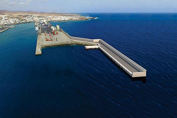 El Puerto del Rosario instalará un nuevo dique-muelle