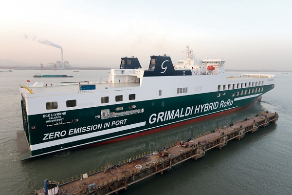 La clase GG5G de Grimaldi reduce hasta siete veces las emisiones de CO2