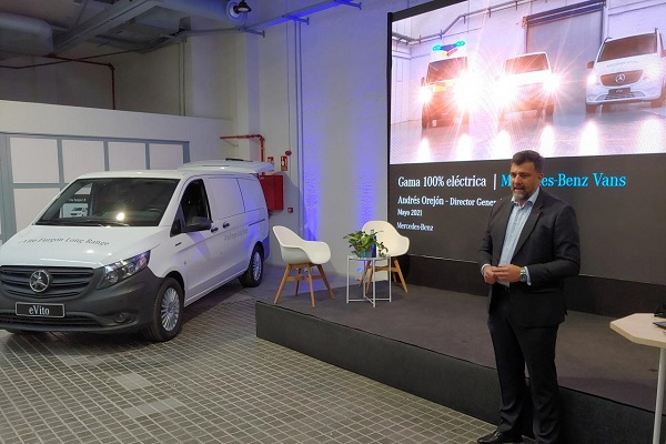Mercedes-Benz Vans gama furgonetas eléctricas Madrid