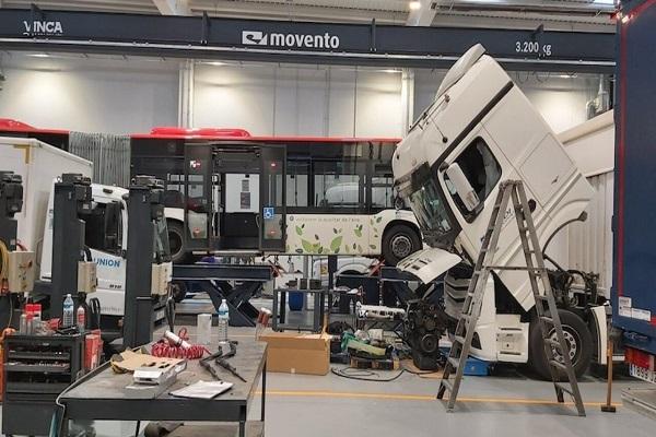Nuevo taller autorizado de camiones Mercedes-Benz y Fuso abre en Barcelona