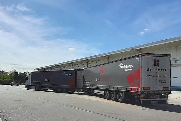 Palletways Iberia duotrailer rutas Madrid Barcelona