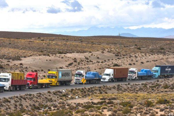 camioneros privados de Bolivia