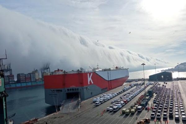 puerto de san antonio nubes