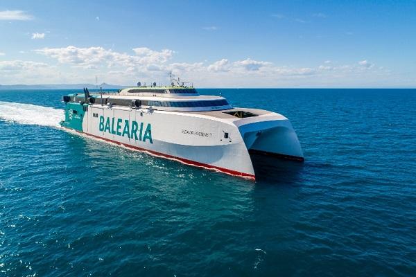 Baleària realiza primer viaje piloto con combustible renovable