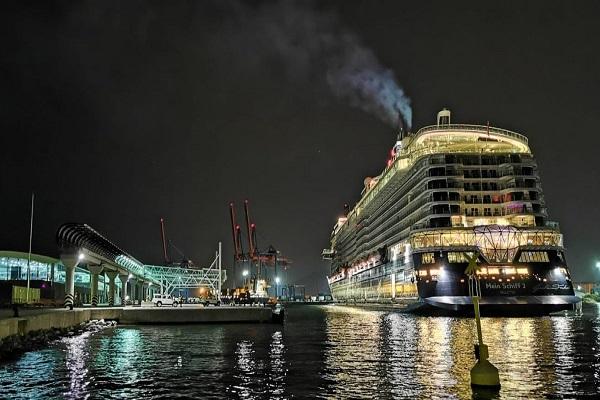 El Puerto de Málaga recibe su primer crucero tras las restricciones